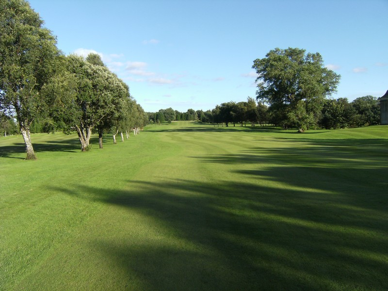 View of the 1st fairway