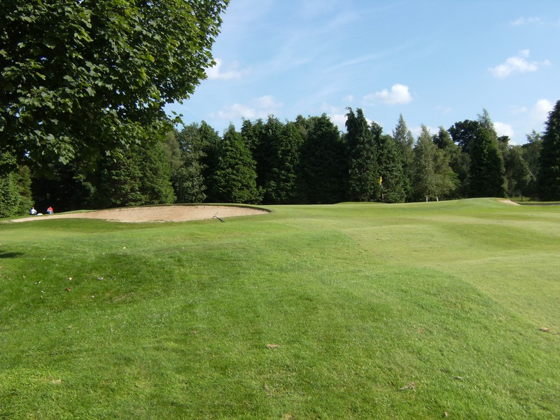 View towards the 1st green