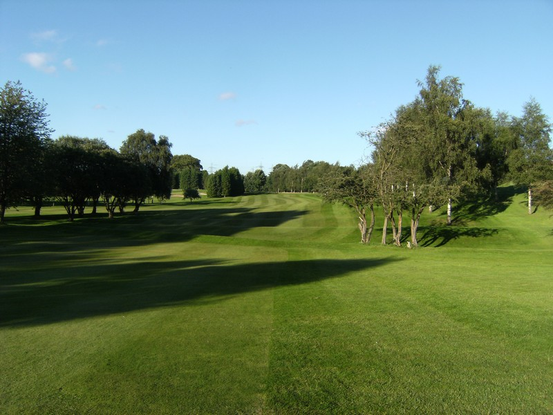 The 2nd fairway