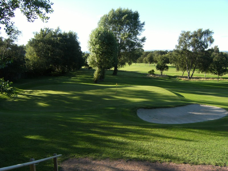 View of the 2nd green
