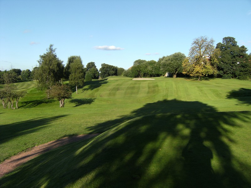 The 3rd fairway