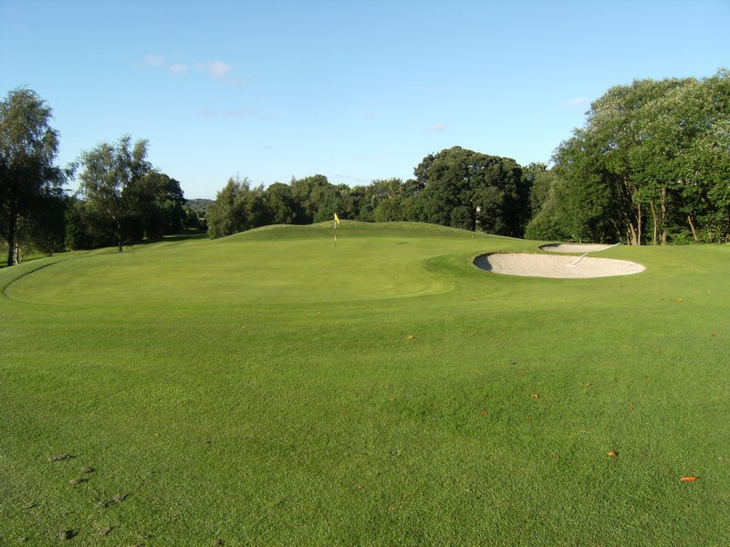 The 3rd green view