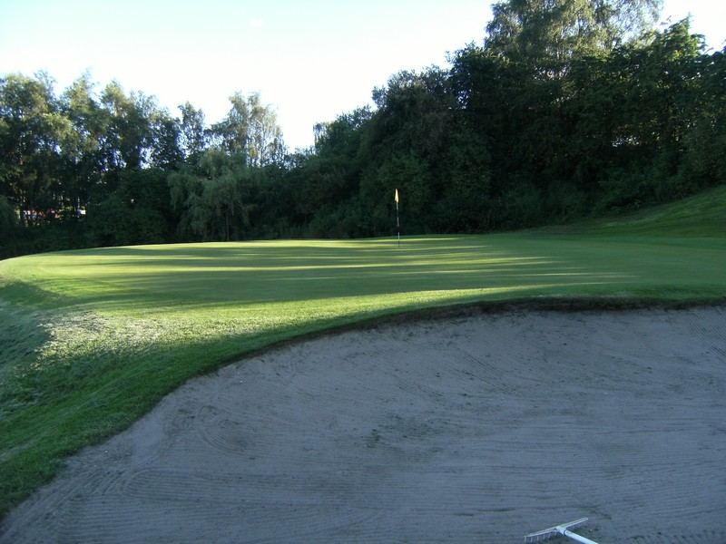The 4th green