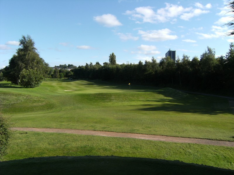 View behind the 6th green