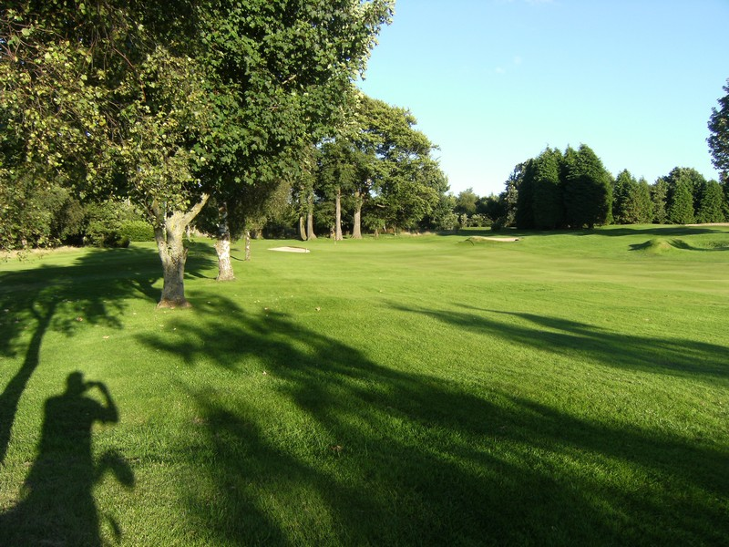 The 7th green