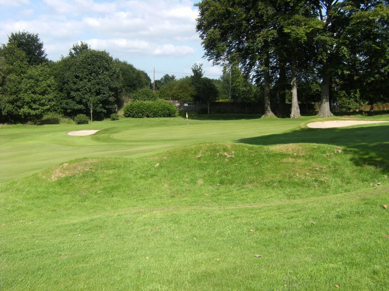 View towards the 7th green