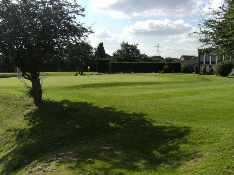 View towards the 9th green